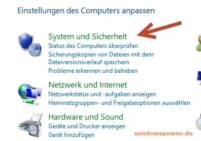 System und Sicherheit