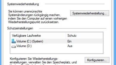 Photo of Windows 8 Computerschutz Einstellungen