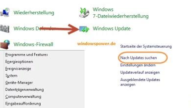 Windows 8 Updates manuell suchen 0