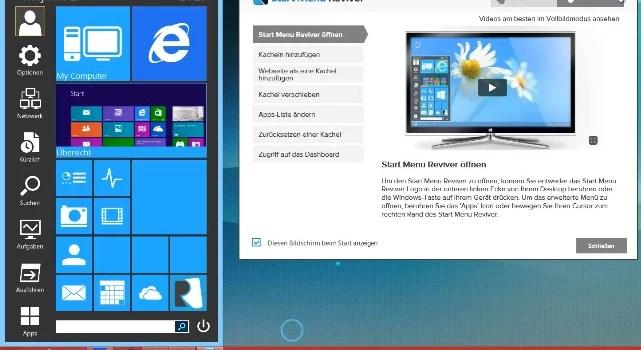 Windows 8 Startmenü gestalten 0