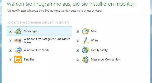 Windows Live Essentials mit einem Klick entfernen 0