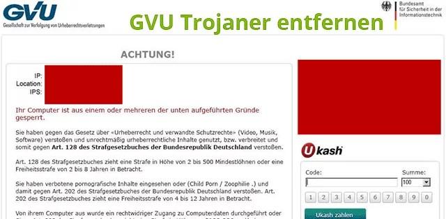 gvu-trojaner-entfernen