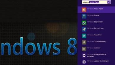 Photo of Windows 8.1 die neue Suchfunktion