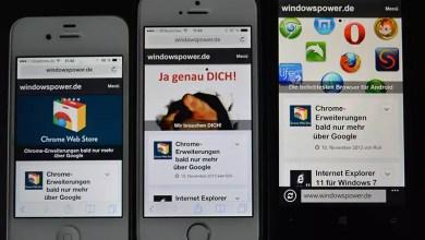 Photo of windowspower.de für die Nutzung mit Smartphones und Tablets optimiert