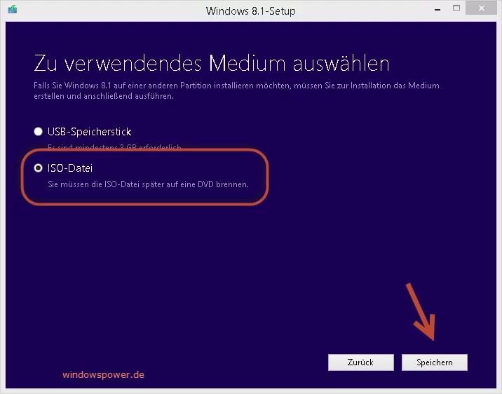 windows-8-1-ISO-speichern