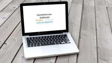 Photo of Quickshare.exe Entfernen