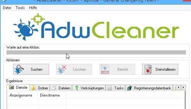 AdwCleaner – Anleitung zum Entfernen von Adware Malware 0