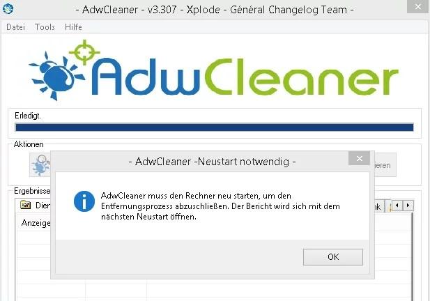 AdwCleaner-neustart-notwendig