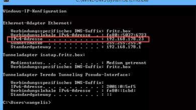 Photo of Eigene interne IP herausfinden bei Windows 8.1
