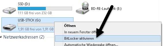 BitLocker aktivieren
