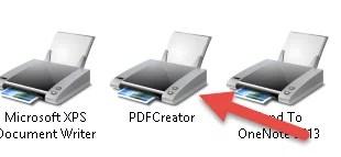 pdfcreator drucker