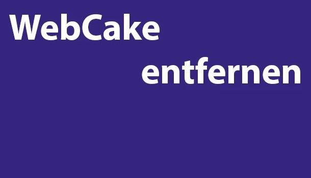 webcake-entfernen