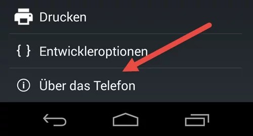 Android Einstellungen ueber das Telefon Aktualisierung der System Software bei Android Handys android einstellungen ueber das telefon
