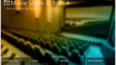 Photo of Ashampoo Movie Shrink & Burn 4 – Videos umwandeln und verkleinern + Gewinnspiel 5 Vollversionen