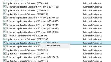 Photo of Windows 8.1 Einzelne Updates deinstallieren entfernen löschen