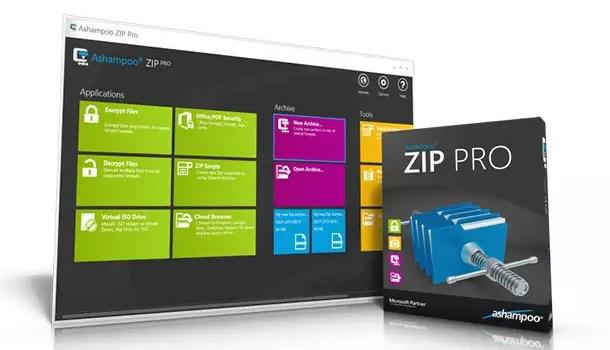 Ashampoo Zip Pro – Daten komprimieren und verschlüsseln + 10 Vollversionen  zu gewinnen 0