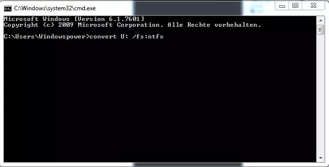 FAT32 auf NTFS Konvertieren, ohne Datenverlust 0
