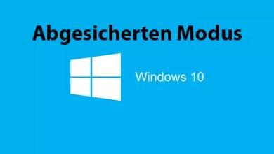 Windows 10 im abgesicherten Modus starten 0