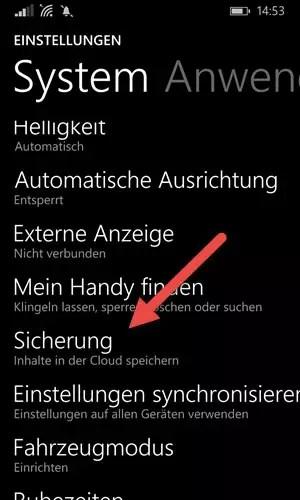 Windows Phone OneDrive App: Automatischer Foto-Upload aktiviere