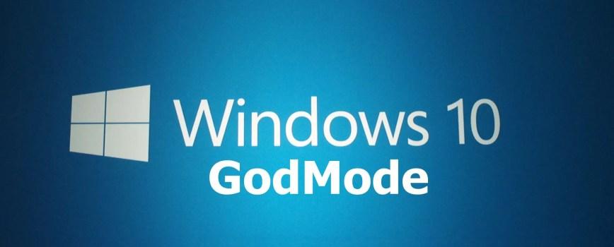 Windows 10 God Mode 0
