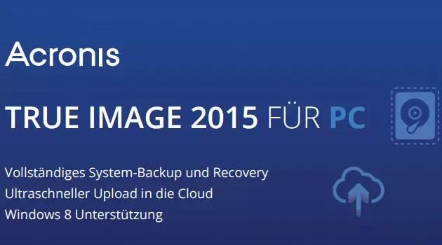 acronis true image 20151