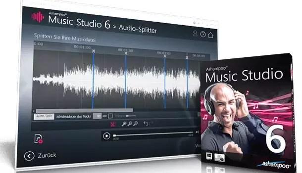 Ashampoo Music Studio 6 – Alles was Ihr Sound braucht! + 10 Vollversionen zu gewinnen 0