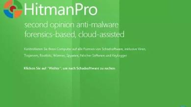 Photo of Infizierten Computer mit Hilfe von HitmanPro.Kickstart-USB-Stick starten