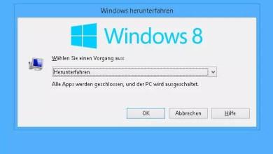 Windows 8.1 ohne Installation von anstehenden Updates herunterfahren 0