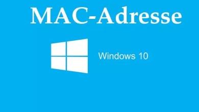 Photo of MAC-Adresse herausfinden mit Windows 10
