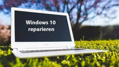 Windows 10 mit Wiederherstellungspunkt reparieren 0