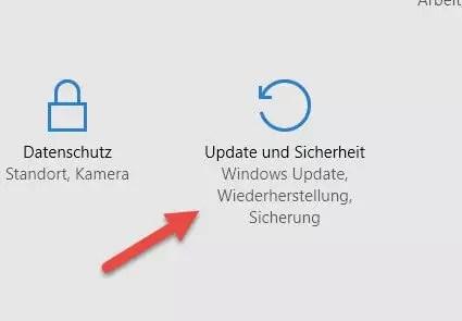 update sicherheit