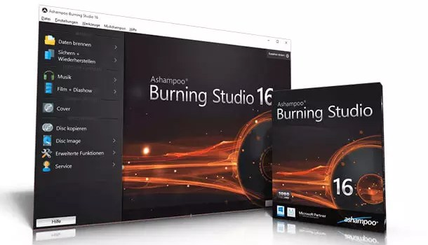 Ashampoo Burning Studio 2016 Vollversion kostenlos 0