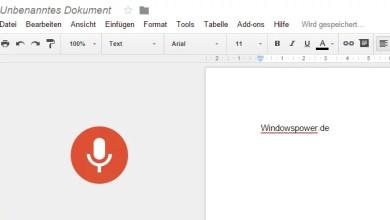 Photo of Google Docs: Jetzt mit Spracherkennung – so geht's