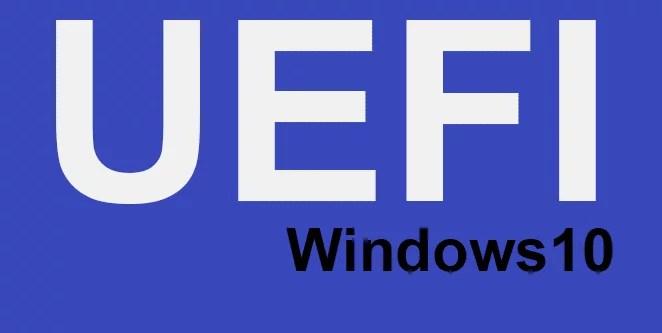 UEFI-BIOS bei Windows 10 starten 0