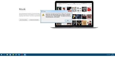"""Photo of iTunes kann die Inhalte auf dem iPhone nicht lesen """" reparieren """""""