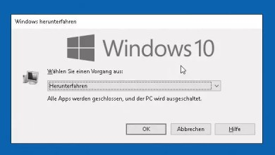 Photo of Windows 10 Herunterfahren – alle Möglichkeiten