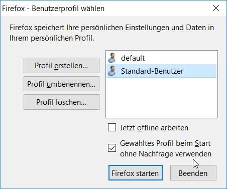 firefox-benutzerprofile