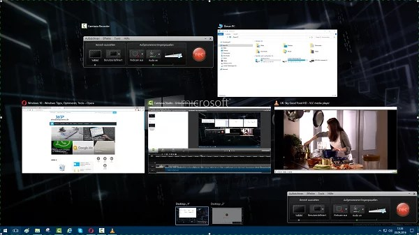 Windows 10 Multiscreen/Multidesktop 0