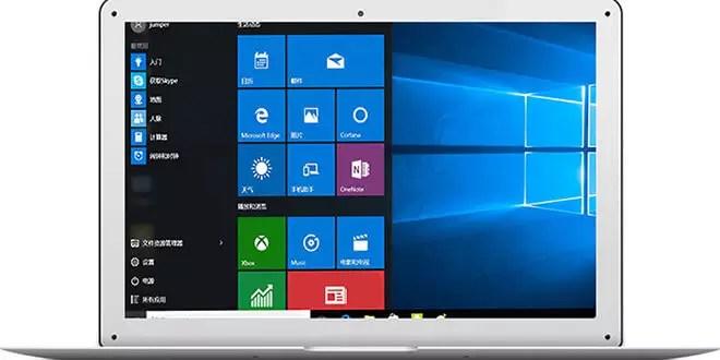 yepo 737s 13 3 zoll laptop mit windows 10 f r 189. Black Bedroom Furniture Sets. Home Design Ideas
