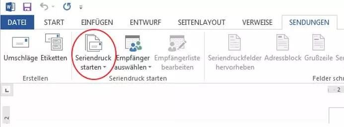 Adressetiketten drucken mit Microsoft Word und Excel- So geht's 1