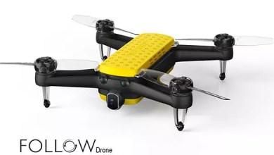 Photo of Geniusidea FOLLOW Drohne für 360€