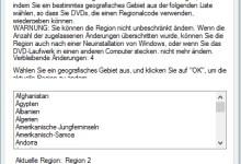 Photo of Windows 10 DVD-Region Code einstellen