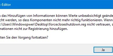 Photo of Windows 10 Herunterfahren erzwingen