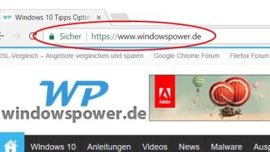 In eigener Sache: windowspower.de ab sofort über https:// erreichbar 0