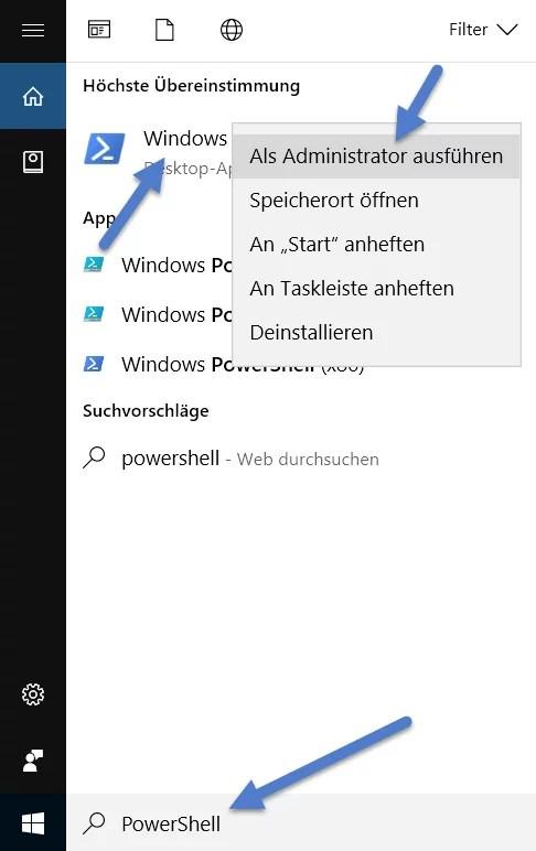 PowerShell starten öffnen bei Windows 10 – So geht's 0