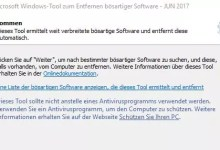 Photo of Windows verstecktes Tool um Malware zu entfernen