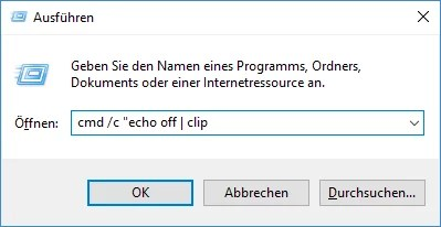 Windows Zwischenablage löschen – Sogeht's 0