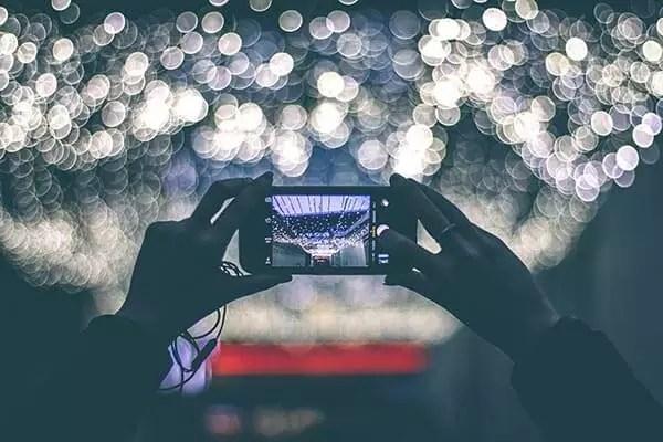 Das Smartphone zum Fotografieren
