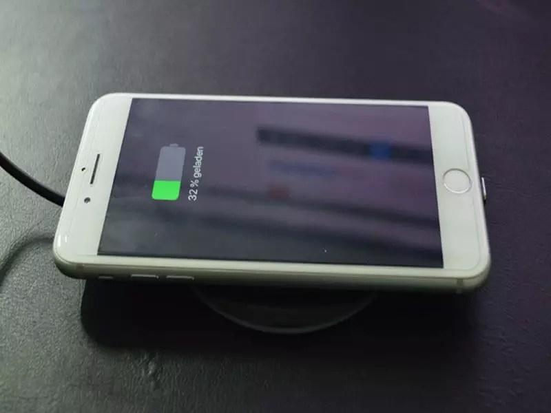 Qi Ladegerät iPhone
