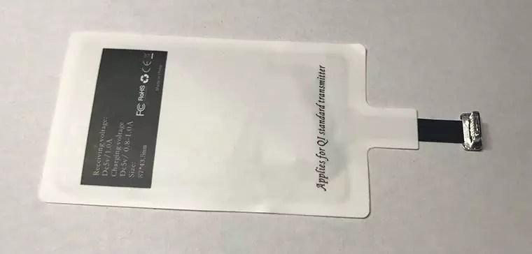 Qi Wireless Receiver CHOETECH ausprobiert – Kabelloses Laden für iPhone 5 bis 7 6